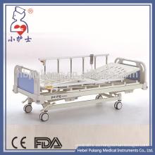 Alta calidad de ruedas de bloqueo de la cama de hospital médico eléctrico