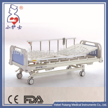 Lit de patient hospitalisé en acier inoxydable à 4 moteurs