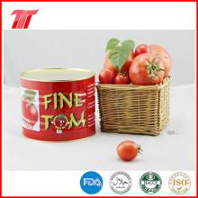 Pâte de tomate en conserve Fine Tom 400g biologique de haute qualité