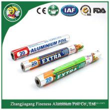 Nivel superior Venta caliente Hogar Aluminio Papel de Aluminio de Alta Resistencia