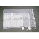 Mesh reusable laundry bag