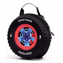 Novo design elegante viagem eva pneu duro shell crianças mochila mochila