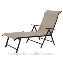 2017 Pool Chair Luxury Lounge Outdoor Furniture Pool Chair Fabric Chaise Lounge Chair Outdoor