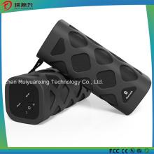 Altavoz Bluetooth portátil con micrófono incorporado (negro)