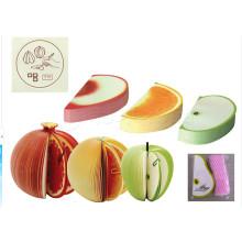 Nota pop-up / notas de presente de papel / Kudamemo Fruit