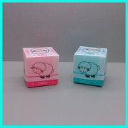 New cheap promotional products very small pp plastic ring earrings jewelry gift box