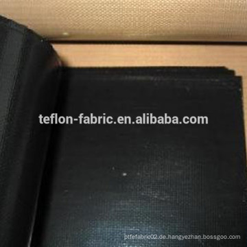 0,35 mm Dicke Schwarze Farbe Anti-Statik-Klasse PTFE Stoff Material