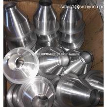 Peças personalizadas de fiação de metal de alumínio