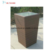 C-Outdoor Garden Rattan Plant Pot