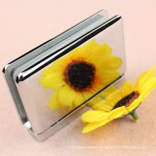 Hardware de la puerta de la ducha bisagra de puerta de cristal de cobre amarillo