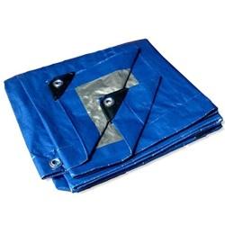 Blue Fire Resistant Tarpaulin Low Price