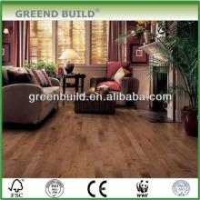 Revestimento de madeira projetado do bordo liso interno