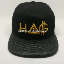 Chapéu de venda quente do snapback do bordado 3d com preço baixo