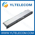 Type blindé Patch Panel CAT 5e et Cat.6 24port(3*8) de 19 pouces 1U