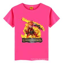 Sommer einzigartige Baby Jungen Namen Baumwolle T-Shirt Monster Muster Kinder kurzes T-Shirt