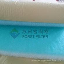 FORST Filtros sintéticos de filtro de pintura Filtro de aire de fibra de vidrio para piso de Spary Booth