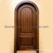Súper compras de septiembre de puertas de fabricación de puertas al ras Mdf haciendo swing