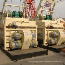CE Js Series Concrete Mixers Js500, Js750, Js1000, Js1500, Js2000, Js3000, Js4000