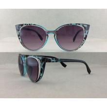 Gafas de sol de plástico personalizado de moda P02004