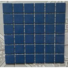 Синяя керамическая мозаика для бассейна
