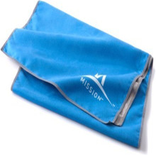 Printed 2019 Emboss Logo Suede Microfiber Gym Towel