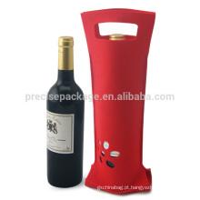 Sacos amigáveis vermelhos baratos da garrafa de vinho de Eco