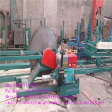 Kreisförmige Log Sägen Sägewerk Maschine mit Kutsche