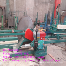 Circular Log Sawing Sawmill Machine with Carriage