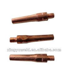 Punta de contacto de cobre soldadura Panasonic M6 * 45