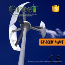 Turbina de viento vertical del eje de 300W 200rpm para las ventas
