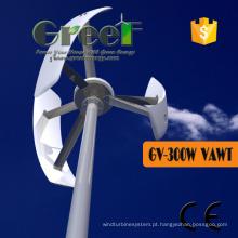 Turbina eólica vertical da linha central de 300W 200rpm para vendas