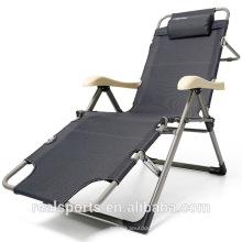 Material Plástico e Cadeira de Jardim Uso Geral Camping cadeira dobrável / cama