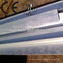 Barre d'angle en acier inoxydable 316 / acier inoxydable
