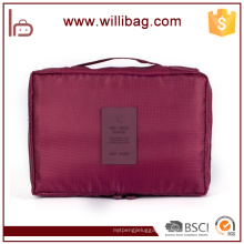 Promotion Polyester Women Travel Cosmetic Bag