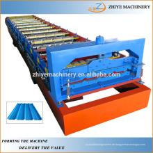 Eisen Dachziegel Kaltwalzformmaschine