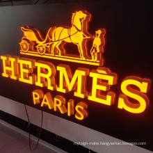 Custom Advertising Acrylic Led Logo  Wall Mounted Signage 3D Letters Business Sign Channel Letters