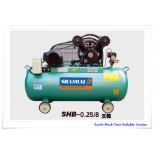 China Manufacturer for 500L Piston Air Compressors SHB-0.25/8 3HP Customized piston air compressor supply to Norway Supplier