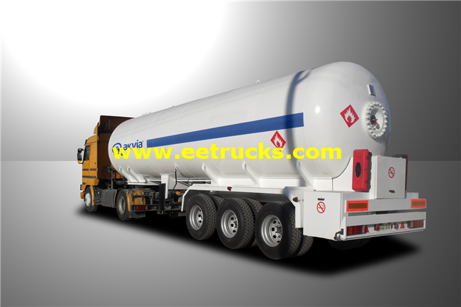 25 Ton LPG Delivery Semi-Trailers