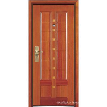 Steel Wooden Armored Door (YF-G9019)