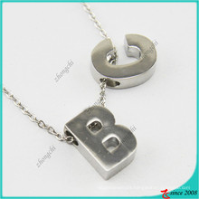 New Design Alphabet Style Charm Pendant Necklace