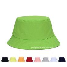 Fashion Summer Outdoor Canvas Traveling Fisherman Bucket Hat