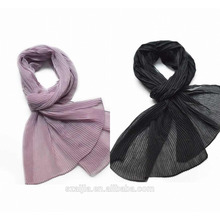 Fashion women viscose crushes scarf/shawl