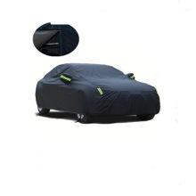 Black Waterproof Snow Dustproof Full Cover Car Cover Four Seasons General