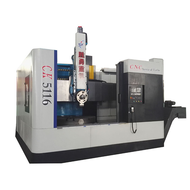 CNC single column vertical lathes information