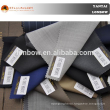 Soft feeling men's plain colors suits 100% wool fabric 1 meters moq