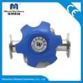 Нержавеющая сталь Tri Clamp / Thread / Weld 2-дюймовый мембранный клапан Производитель
