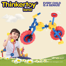 Plastic Connecting Toys, Mini Bicycle Garden Toys