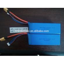 Poderosa 14.8V 5000mah 20 C lipo batería para el aeroplano del RC, coche, barco, etcetera.
