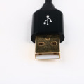 2m Custom USB Charger Cable Game Console Charging Cable Cord Braided Black for Nintendo NEW 3DSXL/3DSLL/3DS/DSI/DSILL