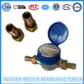 Brass Body, Dry Dial Type, Single Jet Water Meter